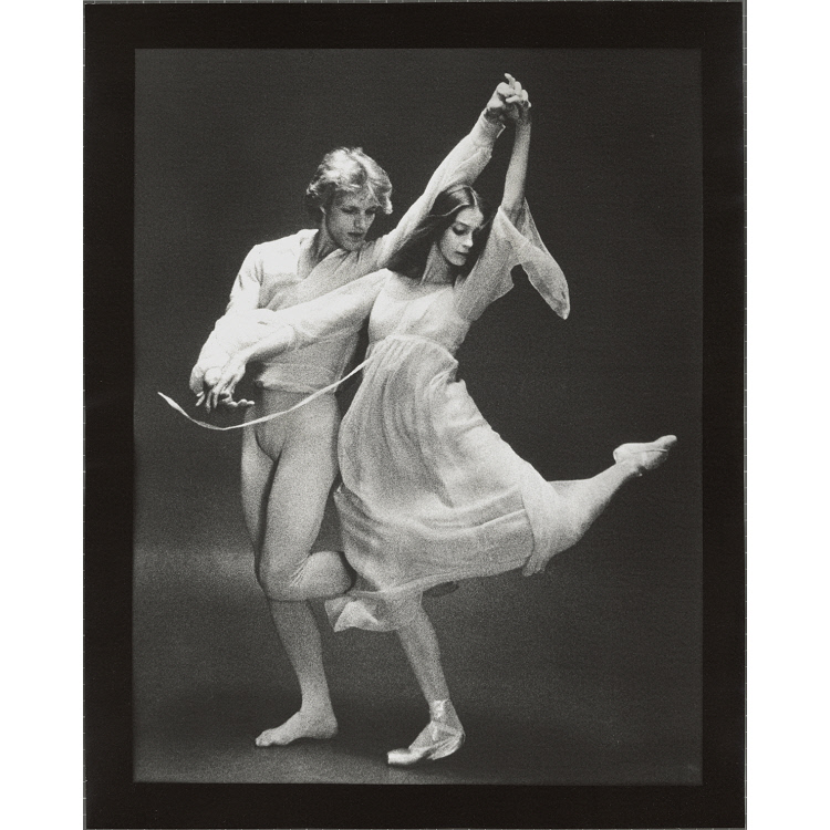 """Peter Martins and Suzanne Farrell in """"Chaconne"""""""