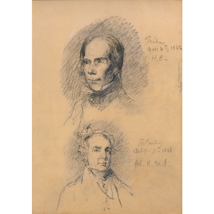 Henry Clay and Richard Mentor Johnson