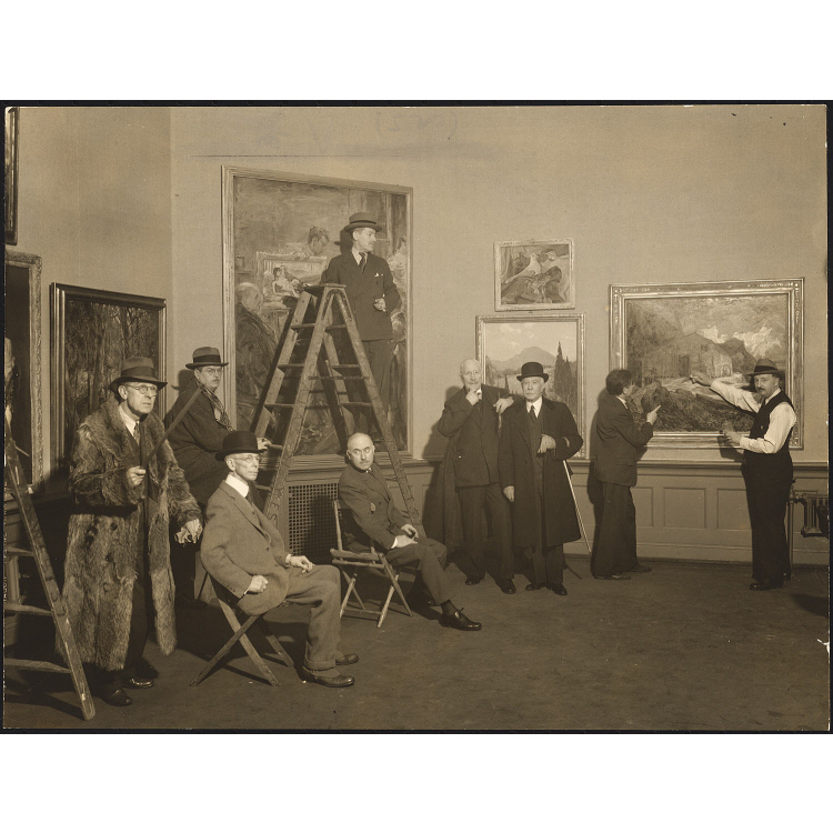 Hanging Committee for the 113th Annual Exhibition, 1938, National Academy of Design