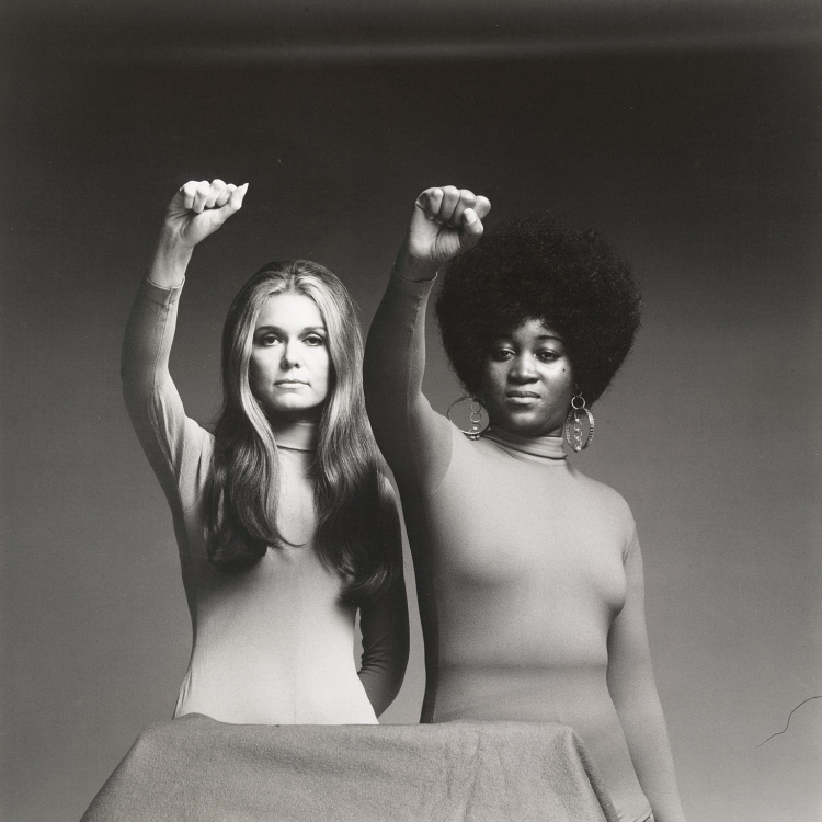 Gloria Steinem and Dorothy Pitman Hughes