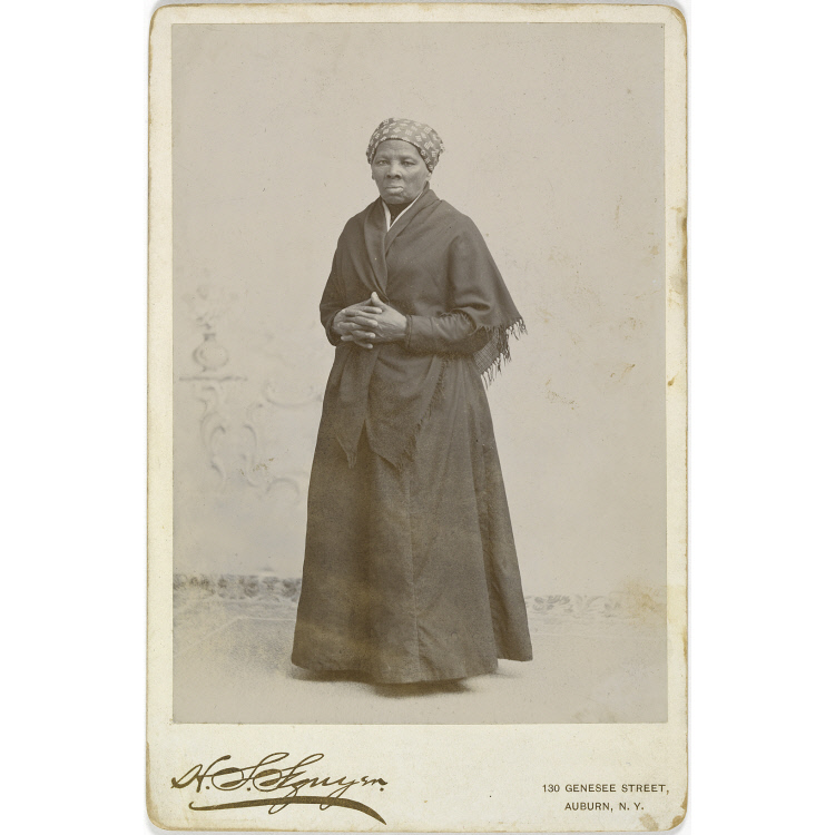 Photograph of Tubman standing