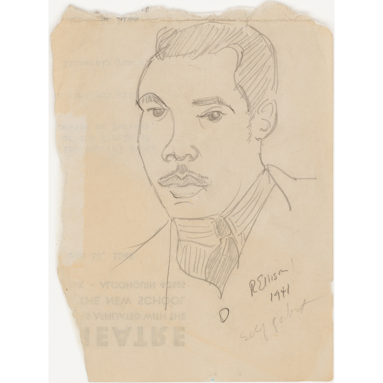 Ralph Ellison Self-portrait