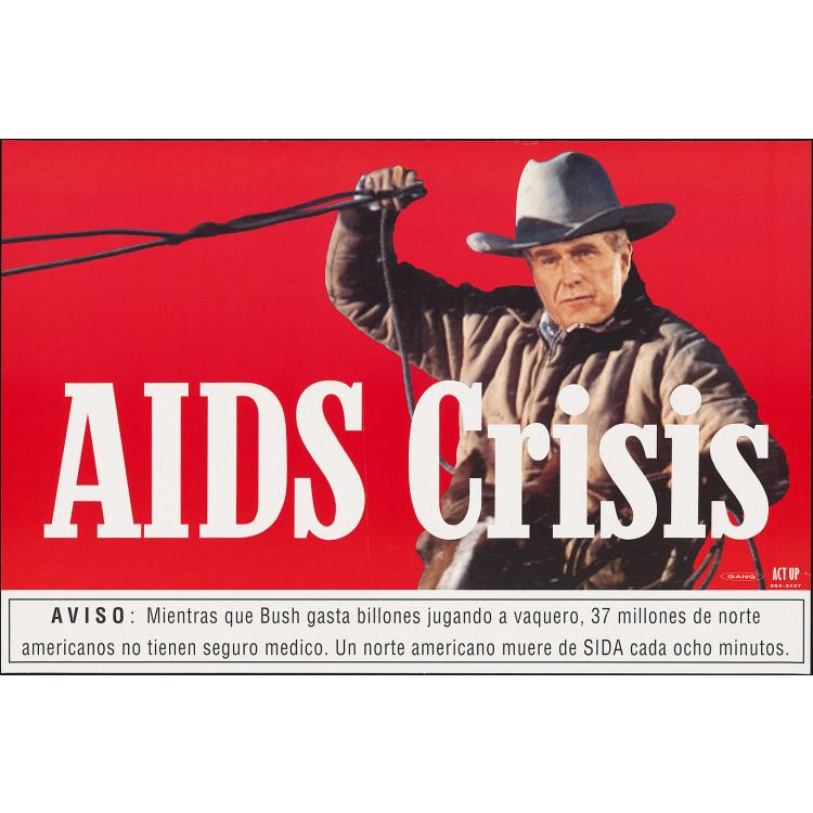 """George Bush """"Aids Crisis"""""""