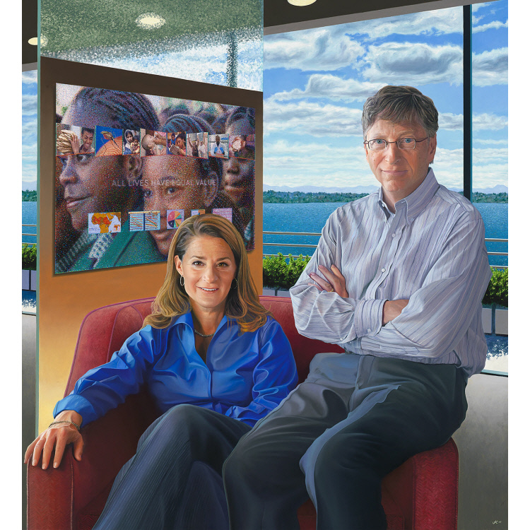 Bill and Melinda Gates | National Portrait Gallery