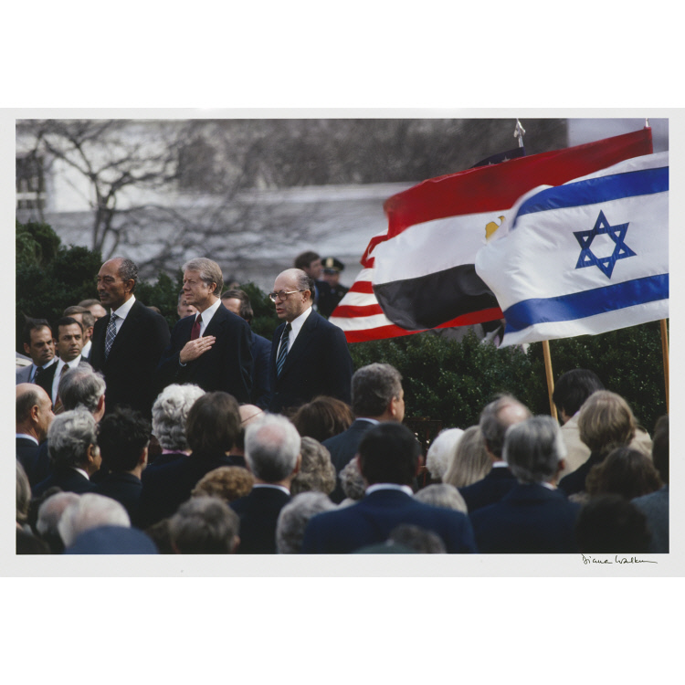 Jimmy Carter (with Anwar Sadat and Menachem Begin)