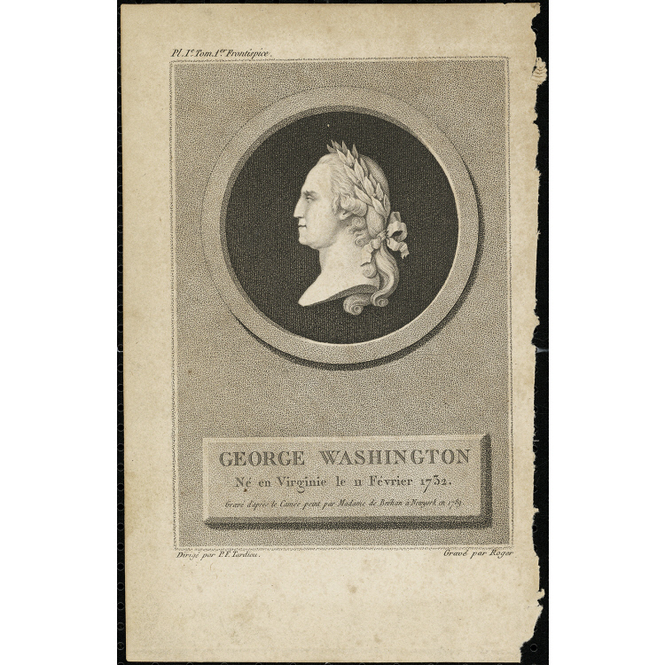 George Washington ne en Virginie