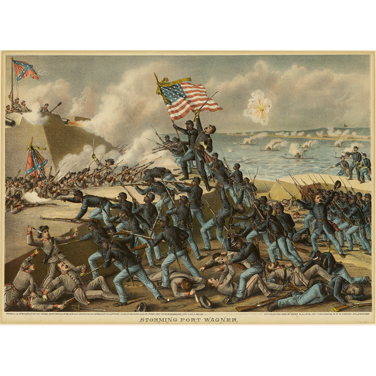 the 54th massachusetts: the doomed assault on fort wagner essay On july 18, 1863, on morris island near charleston, south carolina, the 54th massachusetts volunteer infantry, a union regiment of free african american men, began their assault on fort wagner, a confederate stronghold.