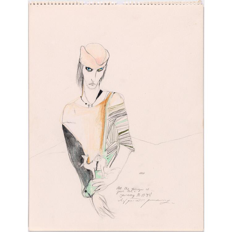 Patti Smith Self-Portrait