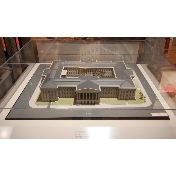 Patent Office Building Model