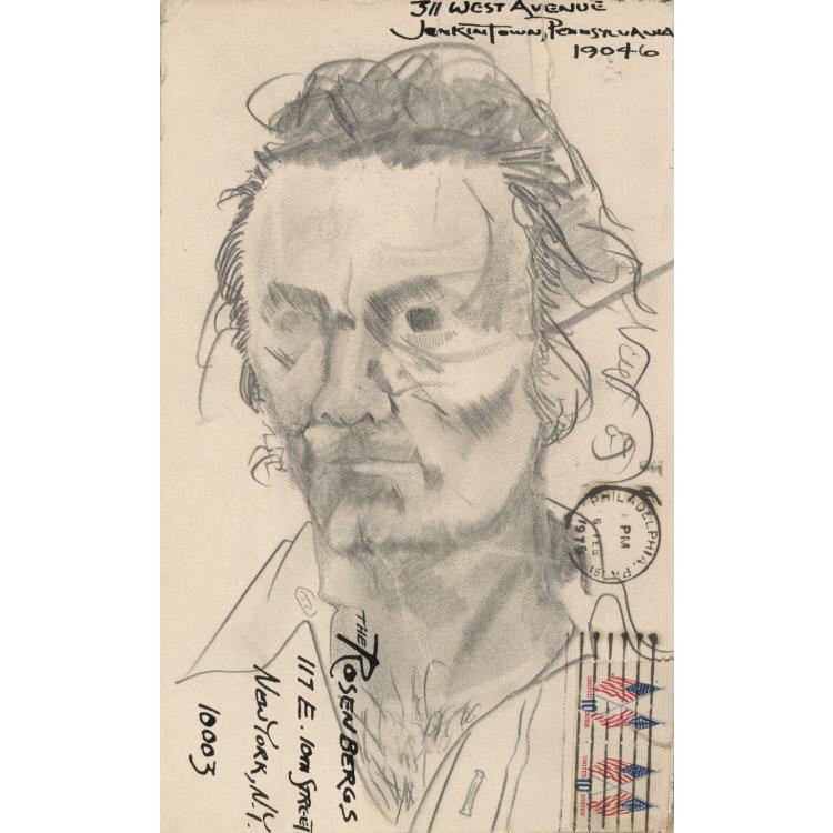 Larry Rivers Self-Portrait