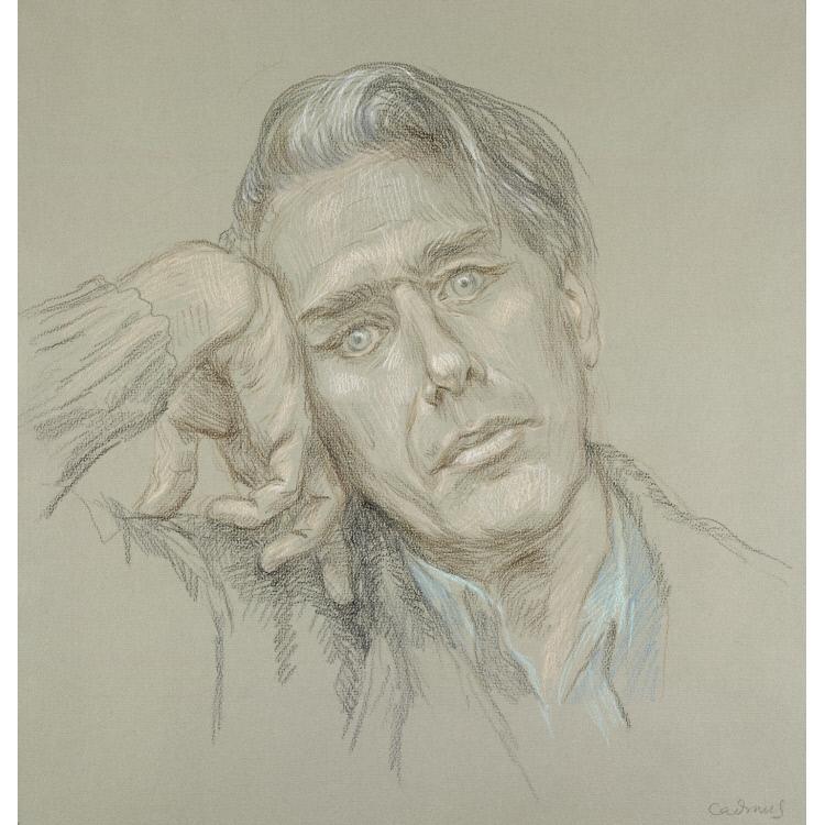 Paul Cadmus Self-Portrait