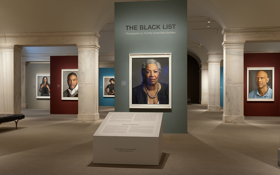 The Black List: Photographs by Timothy Greenfield-Sanders