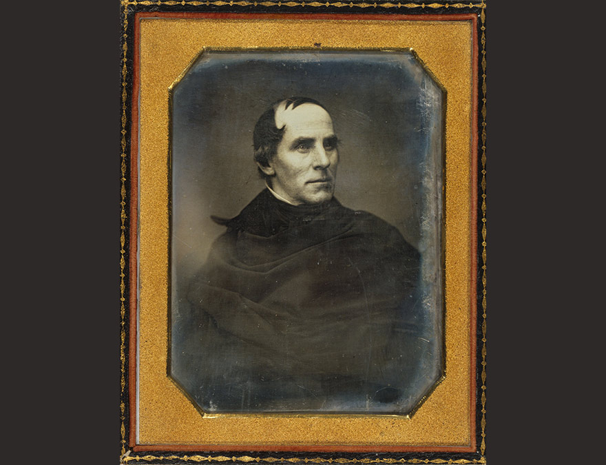 Daguerreotype of a man (Thomas Cole)