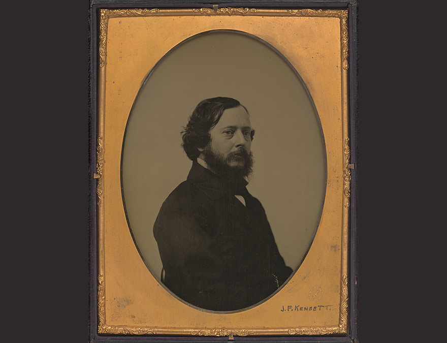 Ambrotype of a man (Frederick Kensett)