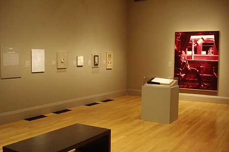 "View of ""Inventing Duchamp"" exhibition"