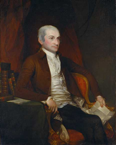 Image result for john jay portrait circa 1800