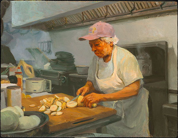 Portrait of Leah Chase