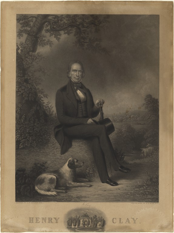 Henry Clay and his dogs