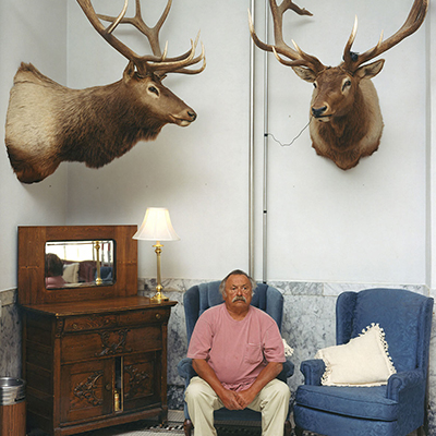 """Jim Harrison"" by Alec Soth"