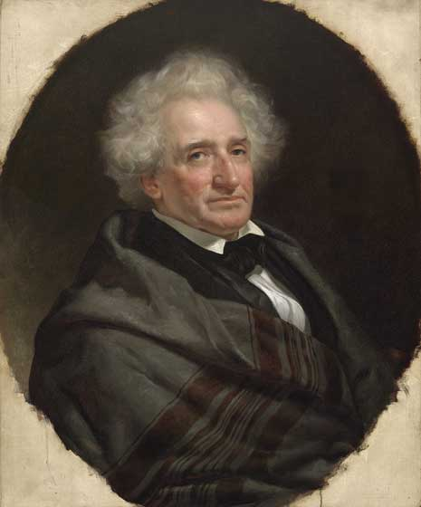 Painted portrait of Thomas McKenney