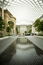 Kogod Courtyard Designed By Norman Foster National