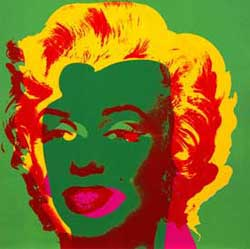 Student Responses Marilyn Monroe By Andy Warhol