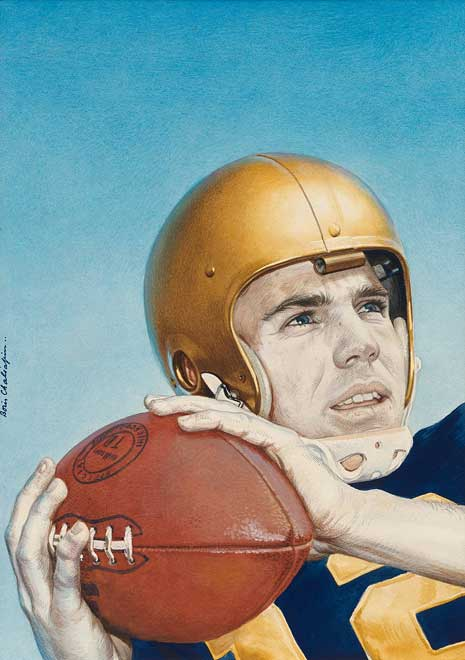 c016cc67fce Football as Ritual: The 1963 Army–Navy Game | National Portrait Gallery