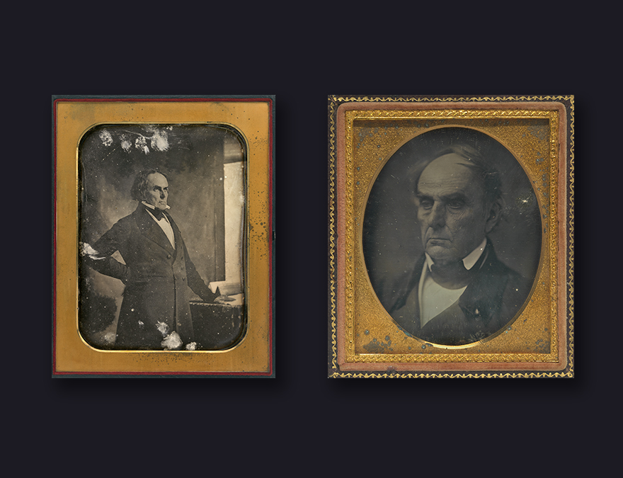 Daguerreotypes of Daniel Webster