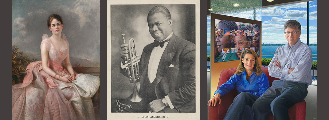 Juliette Low / Louis Armstrong / Bill and Melinda Gates
