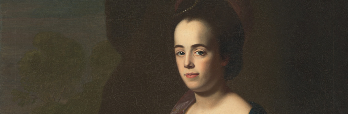 Judith Sargent Murray by John Singleton Copley / Oil on canvas, c. 1769–72 / Terra Foundation for American Art, Chicago, Illinois; Daniel J. Terra Art Acquisition Endowment Fund