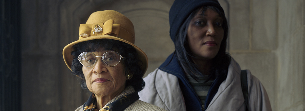 Margaret and Marquetta Tisdell, Original Providence Baptist Church by Paul Damato