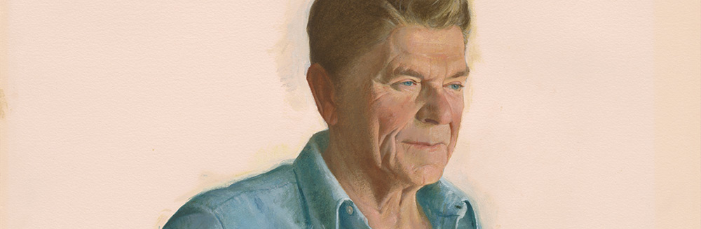 Ronald Reagan by Aaron Shikler