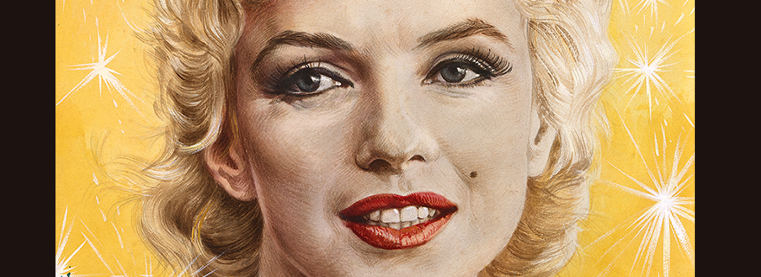 Marilyn Monroe by Boris Chaliapin