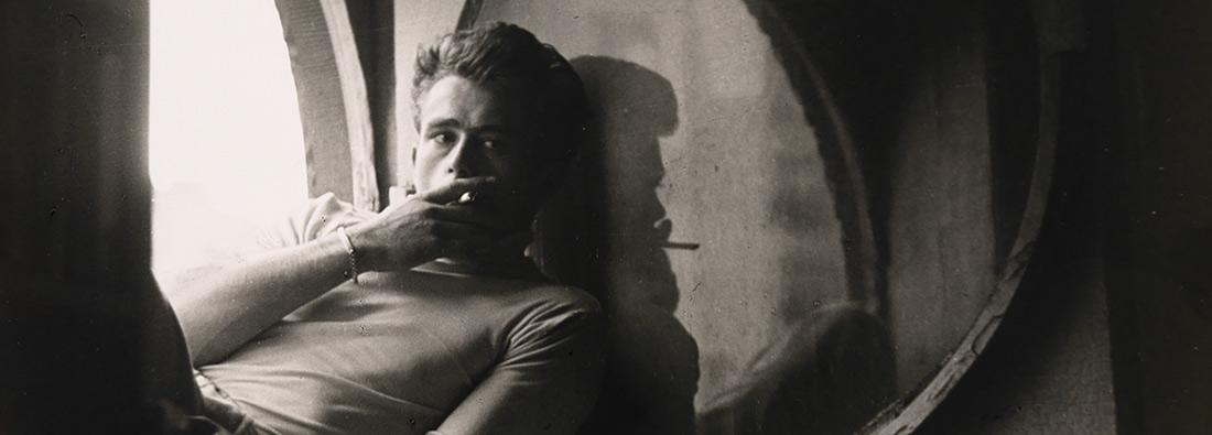 James Dean 1931–1955 Roy Schatt (1909–2002) Impresión en gelatina de plata, 1954