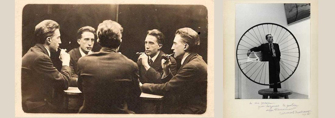 Marcel Duchamp portraits