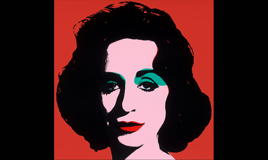 Red Deb By Deborah Kass Screenprint 2012 National Portrait Gallery Smithsonian Institution Abraham And Virginia Weiss Charitable Trust