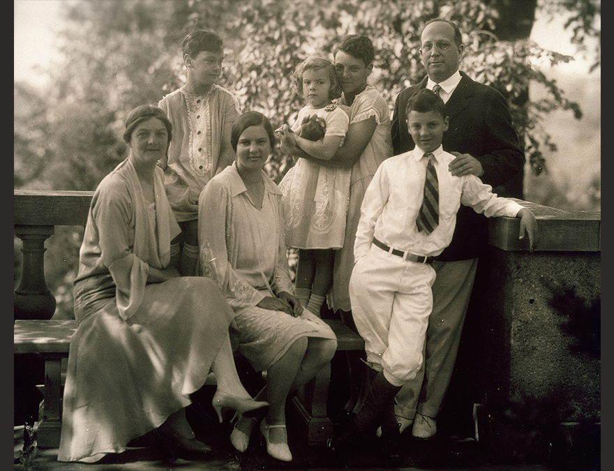 Eugene Meyer and Family by Edward Jean Steichen