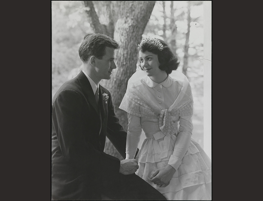 Philip and Katharine Graham's Wedding Photograph