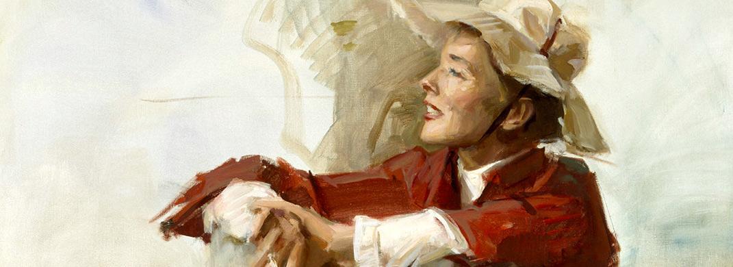 Katharine Hepburn por Kinstler