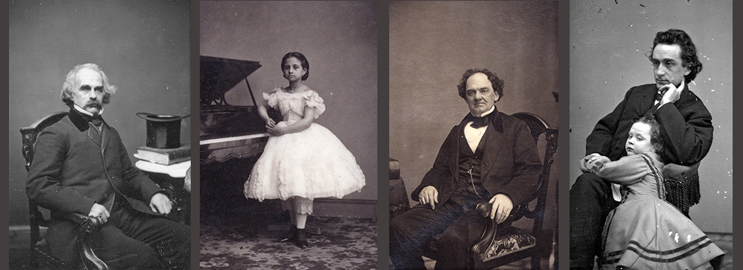 Nathaniel Hawthorne / Teresa Carreño / Phineas T. Barnum / Edwin Booth and daughter Edwina
