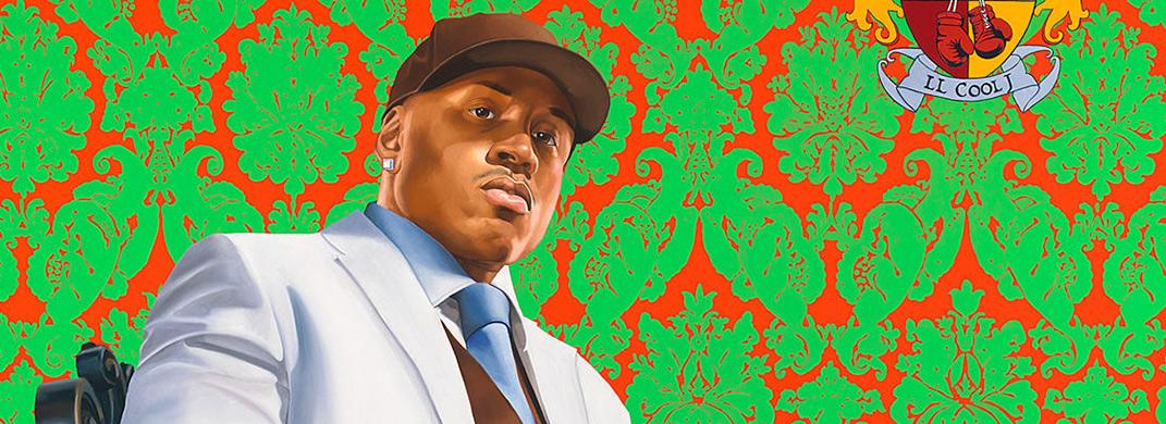 Retrato de LL Cool J por Kehinde Wiley