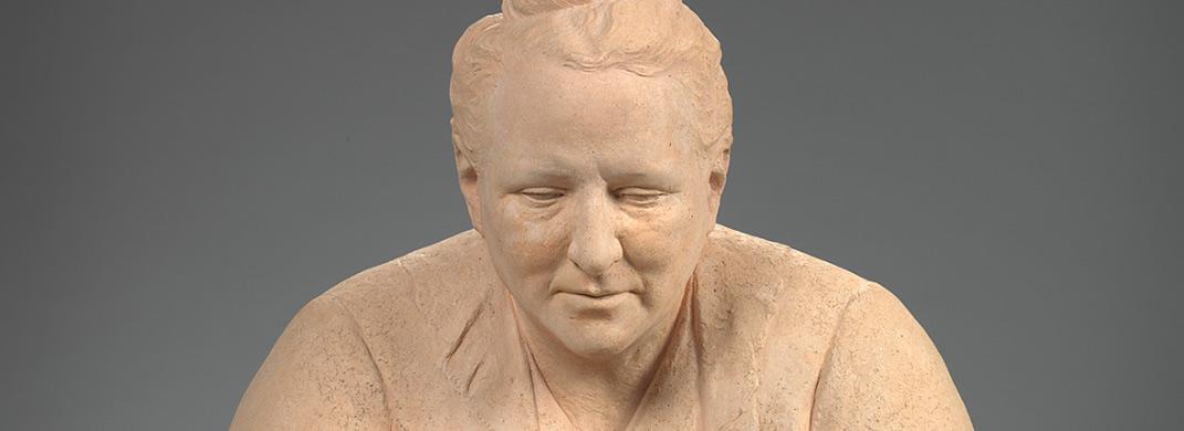Gertrude Stein / Jo Davidson (1883–1952) / Terra-cotta, 1922–23