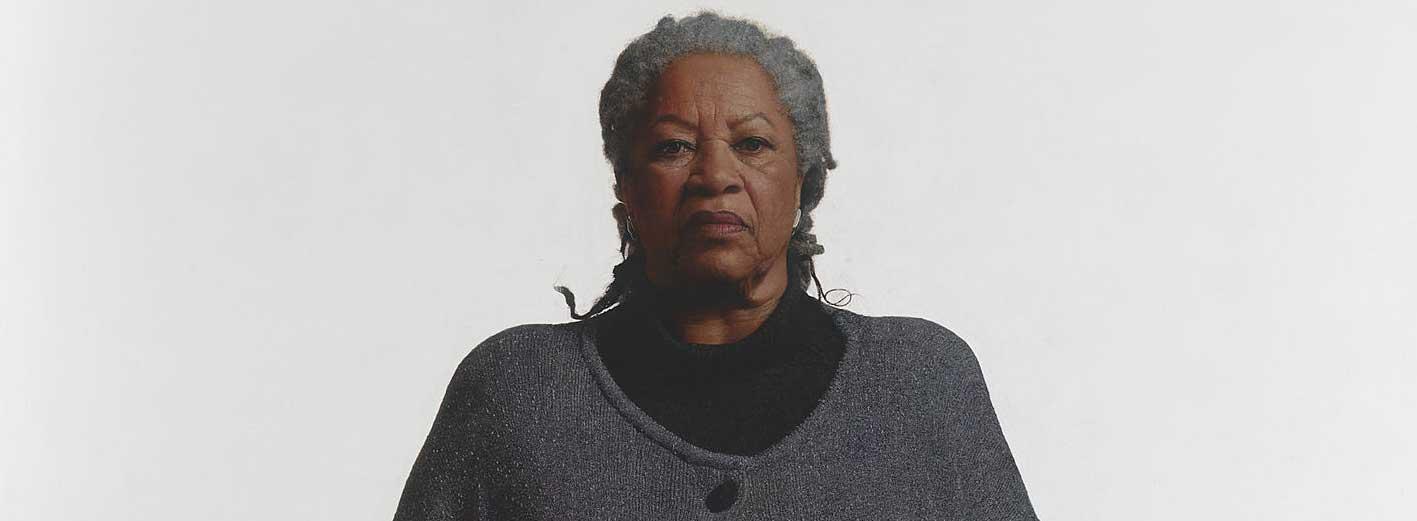 Toni Morrison portrait by Robert McCurdy,