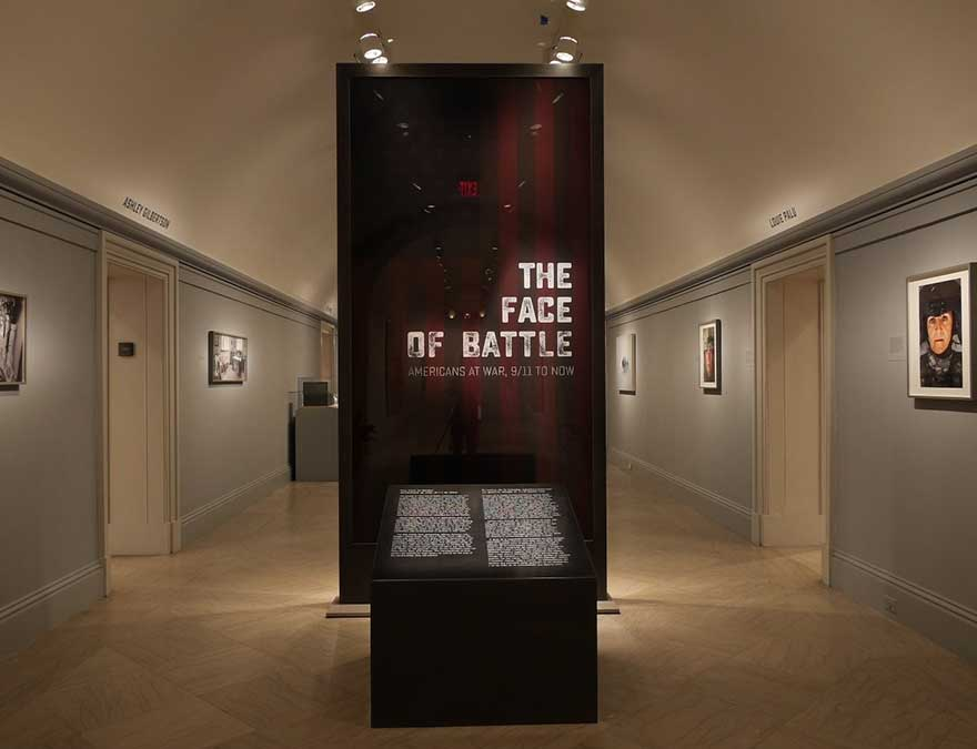 View of the exhibition, entrance