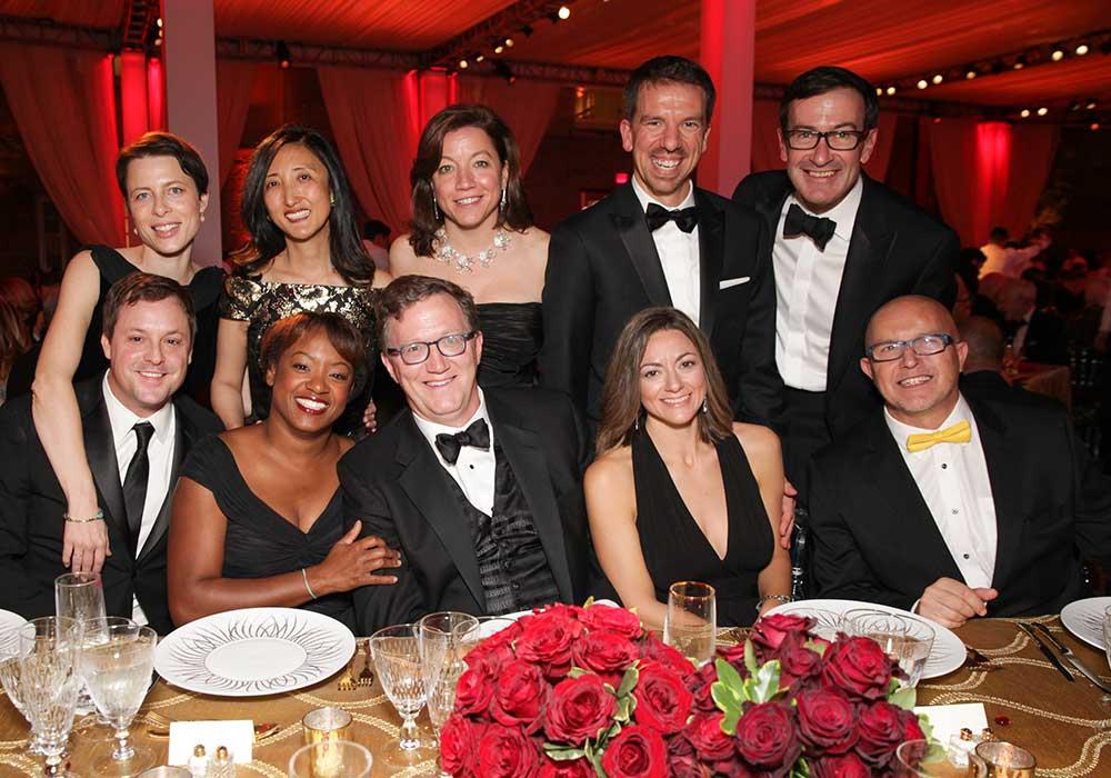 Group photo at Gala