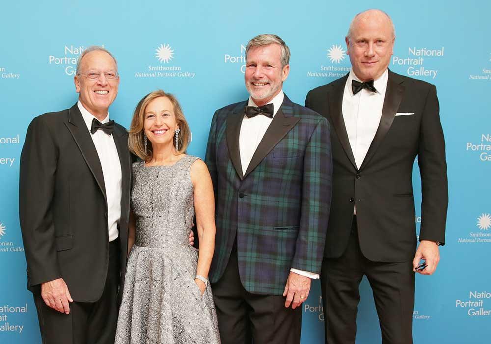 Foto en grupo de la Gala