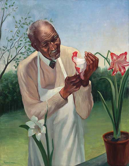 George Washington Carver by Betsy Graves Reyneau. Oil on canvas, 1942. Gift of the George Washington Carver Memorial Committee, 1944