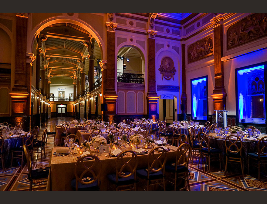 Great Hall during a formal event