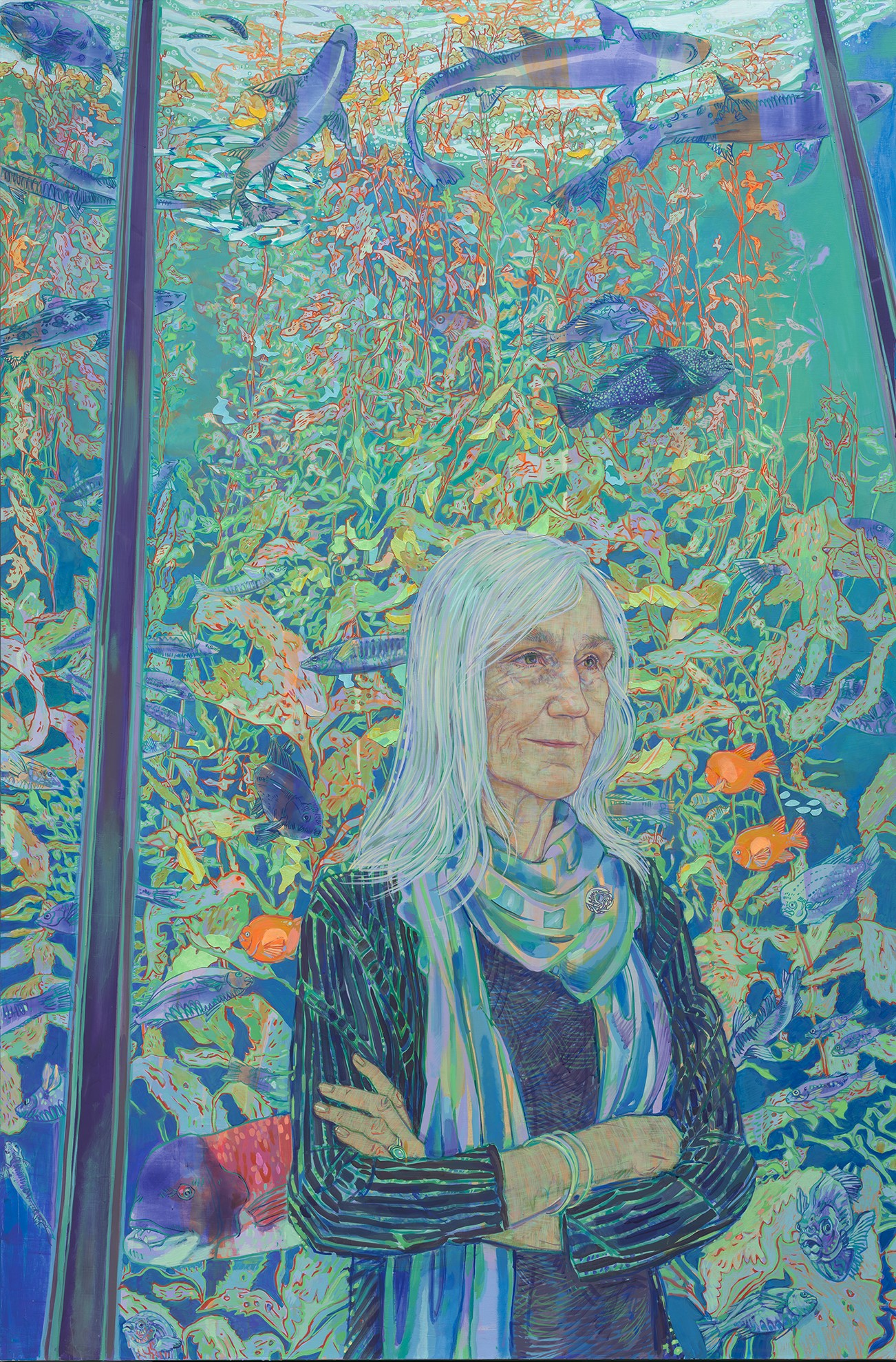 Preview image for National Portrait Gallery Announces Newly Commissioned Portrait of  Ocean Conservation Leader Julie Packard by Artist Hope Gangloff   press release