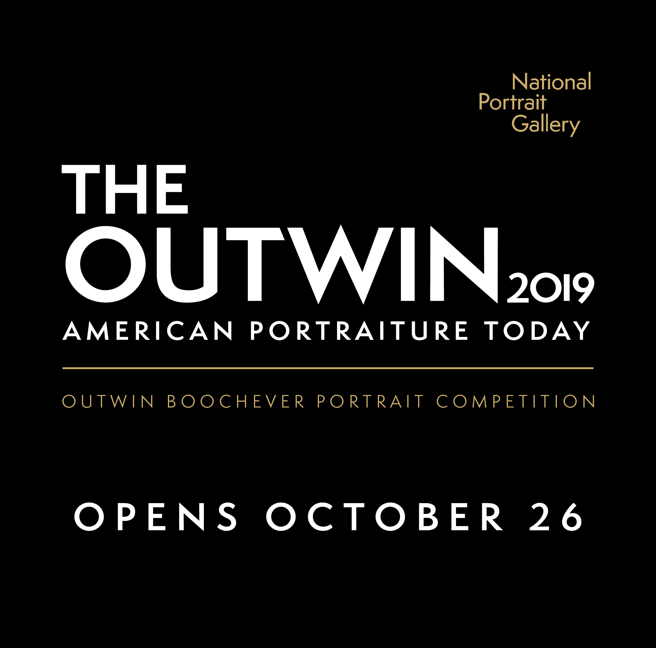 Preview image for National Portrait Gallery Announces 2019 Outwin  Boochever Portrait Competition Finalists  press release